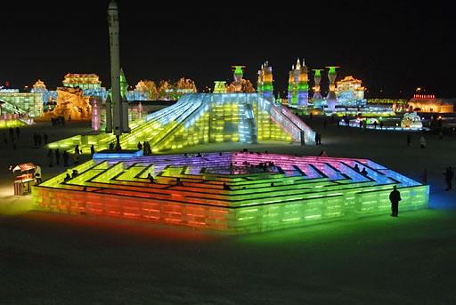Ice Maze, Harbin International Ice and Snow Festival 2007