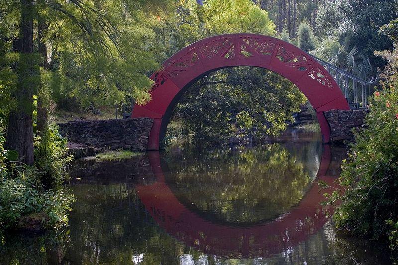 Bellingrath Gardens moonbridge