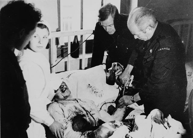 Bethune, Blood Transfusion, Spanish Civil War