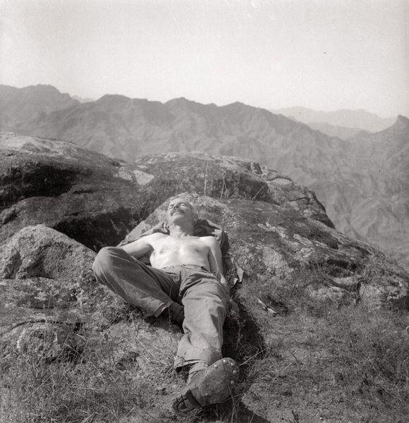 Bethune Exhausted, Wutai Shan, Hebei, China