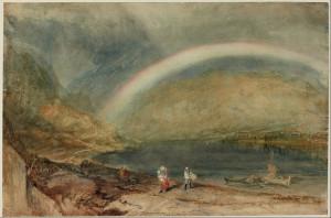 JMW Turner Rainbow bridge of light