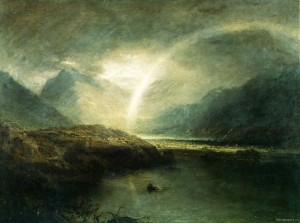 JMW Turner white rainbow