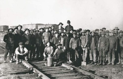 Chinese labourers on the B.C. portion of the CPR in 1883