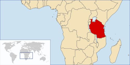 Map of Tanzania-east-africa