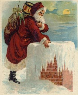 Santa-Coming-Down-the-Chimney